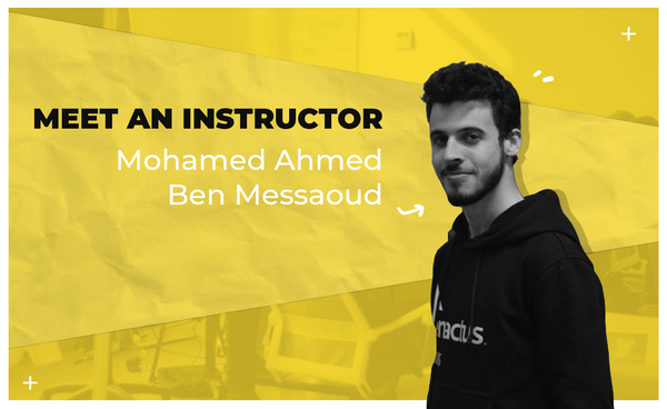 À la rencontre de nos instructeurs: Mohamed Ahmed Ben Messaoud